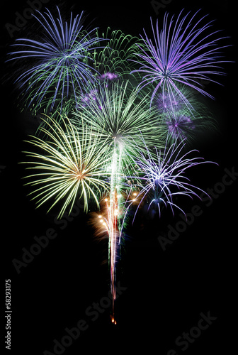 firework display bouquet feu artifice
