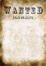 Wanted Vintage Poster - Dead O...