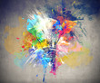 canvas print picture - Colourful Light