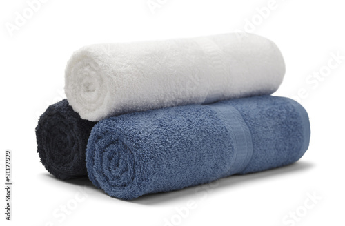 Fotografie, Obraz  Rolled Towels