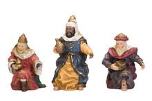 Figurines Of Three Wise Men