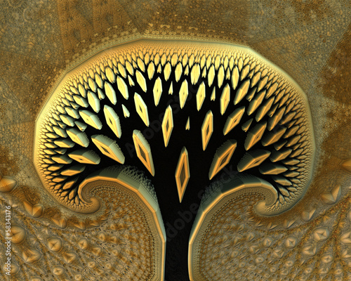 abstract tree - 58343176