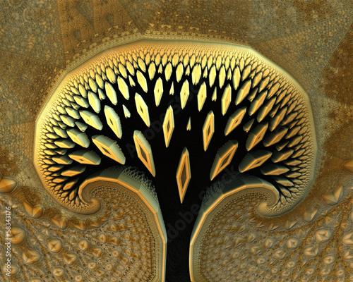 abstrakcyjne-wyrenderowane-drzewo
