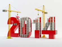 2014 And Cranes - Red