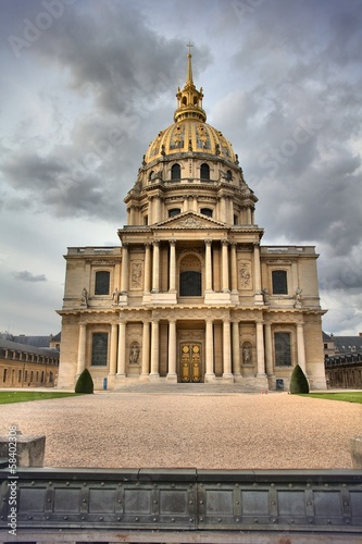 Foto op Plexiglas Historisch geb. Paris - Invalides Palace