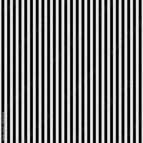 Fotografie, Obraz  Black and White Stripes Textured Fabric Background