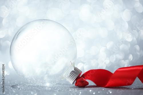 Fotografie, Obraz  Empty Christmas ornament