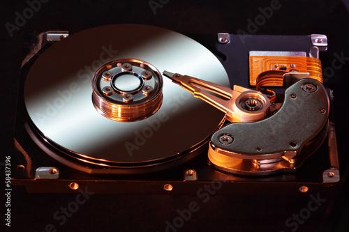 Fotografia  Computer hard disk