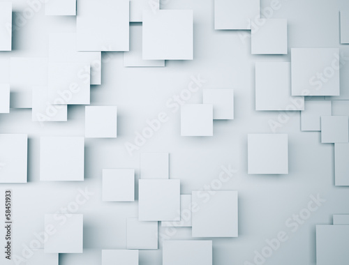 Abstract 3d sqauresbackground