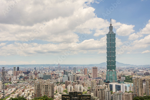 Photo  Taipei scenery