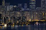 Fototapeta Nowy York - Hong Kong Night View