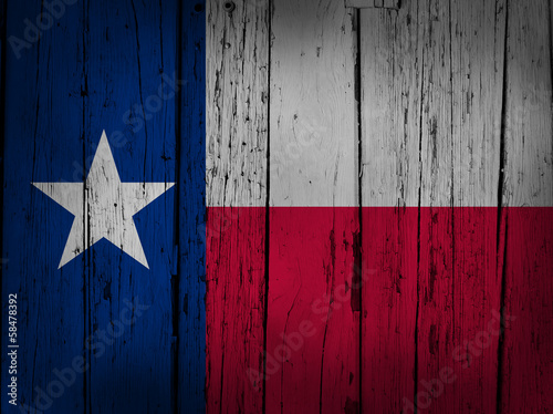 Foto op Canvas Texas Texas Grunge Background