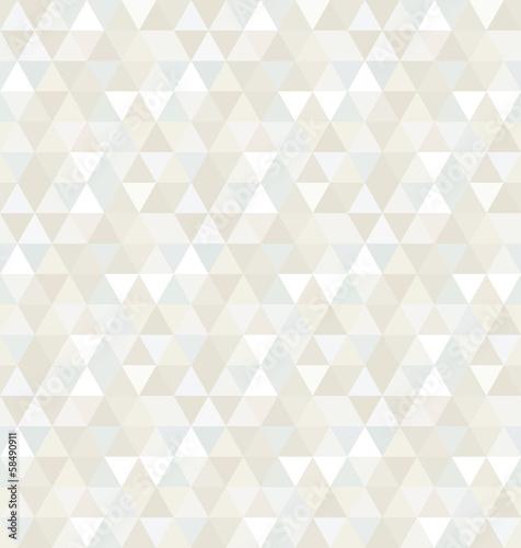 Fotografie, Obraz  Seamless Triangle Pattern, Background, Texture