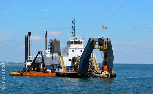 Valokuva  inlet dredging at Florida