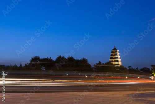 Foto op Plexiglas Xian Big Wild Goose Pagoda
