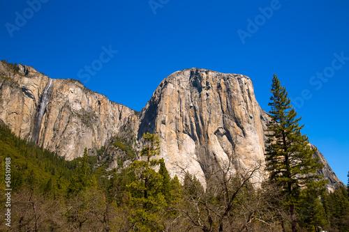 Fotobehang Natuur Park Yosemite National Park El Capitan California