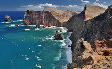 Ponta de Sao Lourenco (Madeira, Portugal) - HDR image