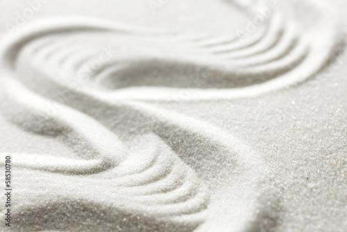 Papiers peints Zen Zen garden sand