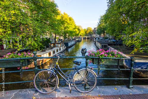 Stickers pour porte Amsterdam Amsterdam
