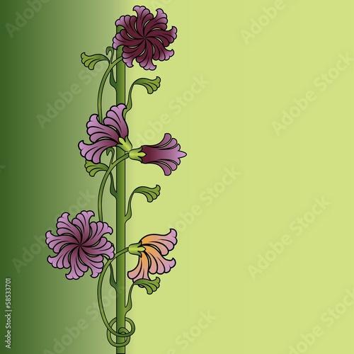 ornament-kwiat-bez-szwu
