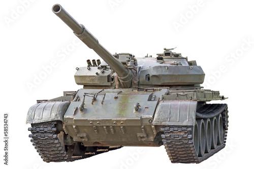 Obraz na plátně  Old tank