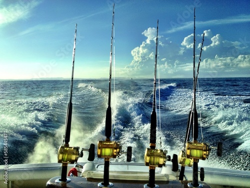 Papiers peints Peche Offshore Fishing