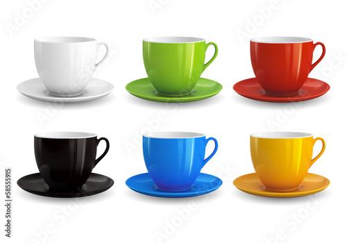 Fotografie, Obraz  Set of cups