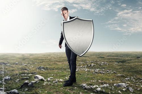 Fotografie, Obraz  Protective Shield