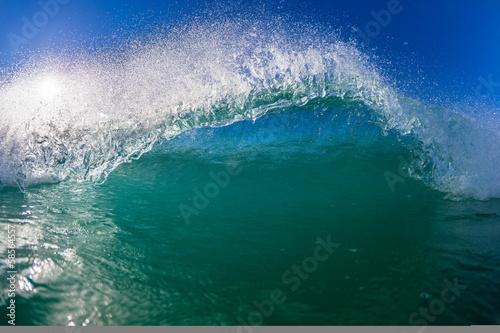 Stickers pour portes Eau Ocean Wave Water Detail