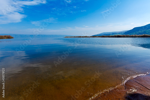 Valokuva Landscape of Kinneret Lake - Galilee Sea