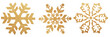 canvas print picture - snowflake