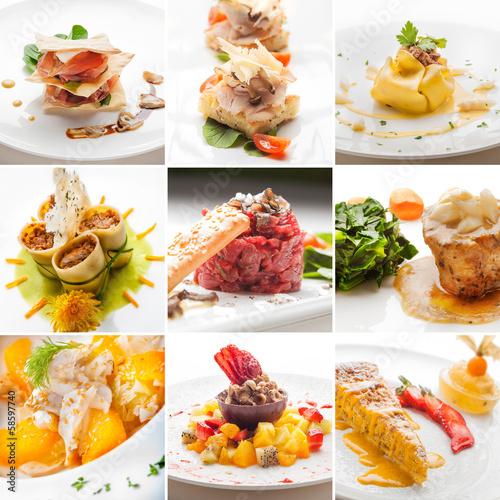 Fotografie, Obraz  Gourmet Food Collection