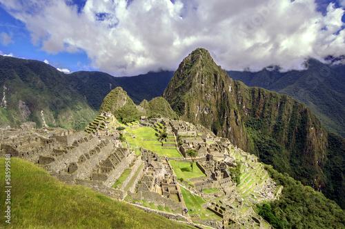 Fotografia  Inca city Machu Picchu (Peru)