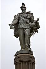Marble  Statue Of Vittorio Emanuele