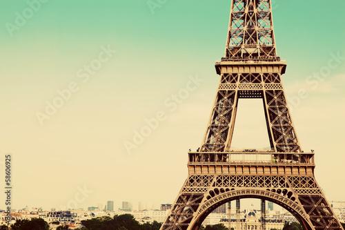 Papiers peints Paris Eiffel Tower section, Paris, France