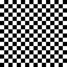 Chessboard Black And White Bac...