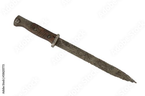 Photo bayonet isolate