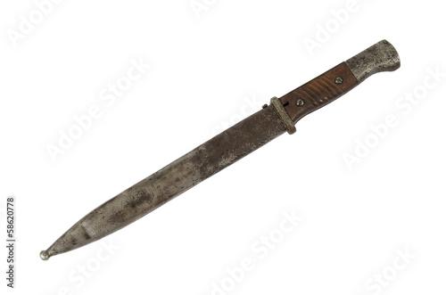 bayonet isolate Fototapeta
