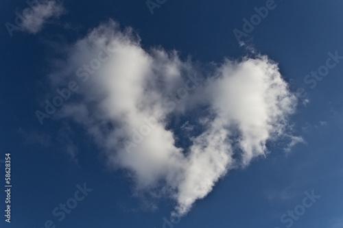 nuvola di cuore