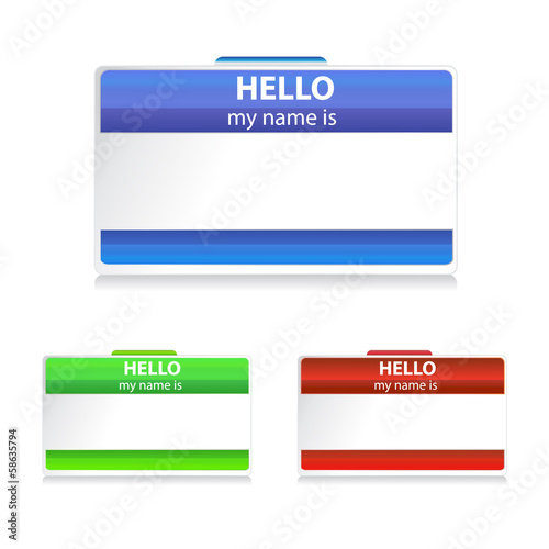 name tag stickers buy this stock vector and explore similar