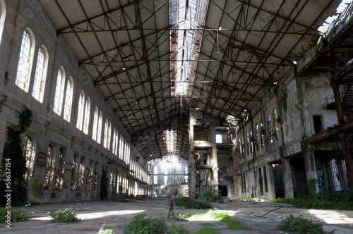 Papiers peints Les vieux bâtiments abandonnés Abandoned building