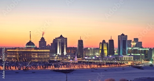 Astana modern capital of Kazakhstan Wallpaper Mural