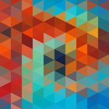 Trójkąty Tło - 58657971