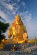 Golden Lord Shiva statue