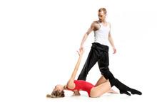 Zmysłowy Taniec Dwojga Ludzi