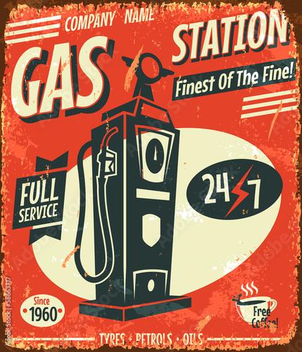 grunge-retro-stacja-benzynowa-znak-ilustracji-wektorowych