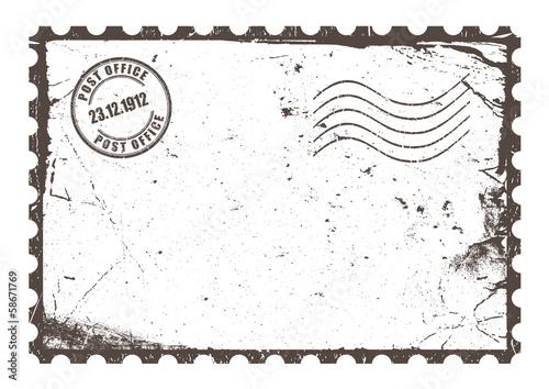 Fotografia  Retro postcard layout