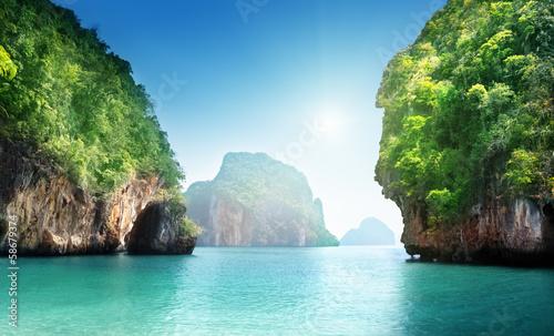 Foto-Kissen - .fabled landscape of Thailand