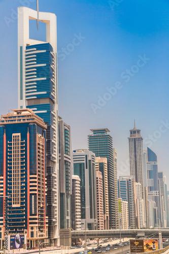 Photo  Dubai downtown. East, United Arab Emirates architecture