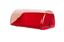 Modern Plastic Red Bread Box  ...